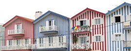 I had a day in Aviero, and saw the candy striped houses , that my friend calls Pyjama houses .