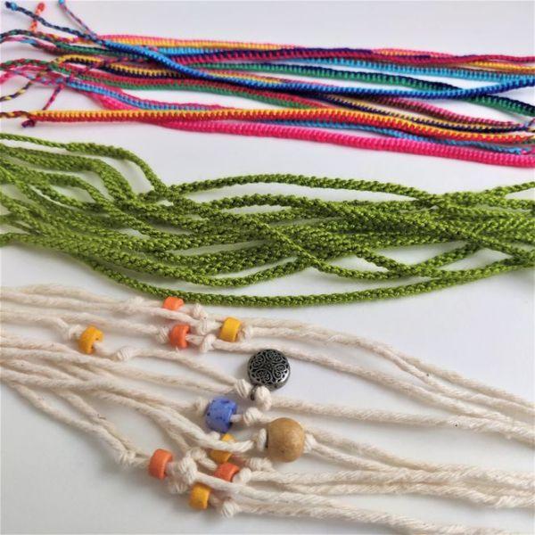 Handmade solidarity bracelets