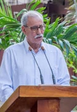 Brahim Gali en Cuba