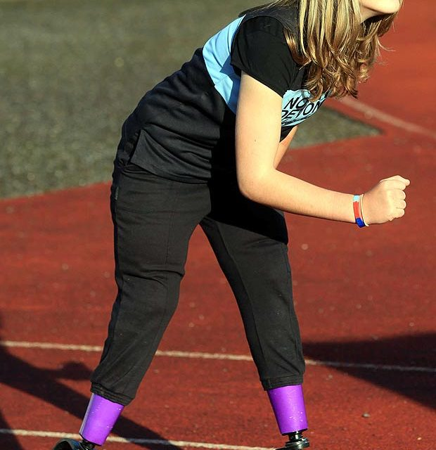 Lydia Cross is gunning to become 2016 Paralympics running champ