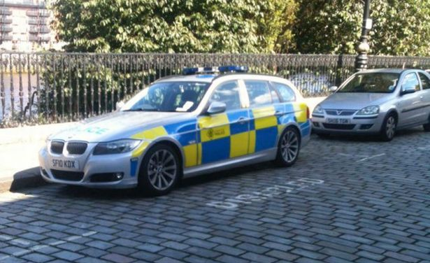 Police parking woe as car is spotted in disabled spot outside court