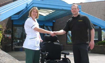 Helping the Spinal Clinic at Stoke Mandeville