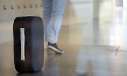 Hands Free Suitcase Developed To Follow You Around Airport