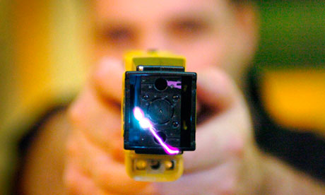 Blind man shot with Taser launches claim for compensation