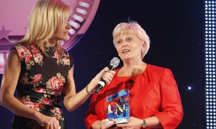 Lorraine Stobie has been recognised for her decades of devotion with the Lifetime Achievement Award