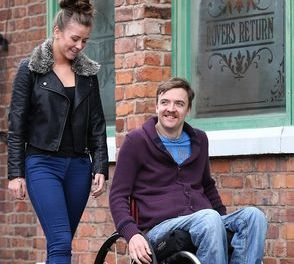 Corrie star tackles disability role