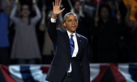 President Barack Obama defeats Romney to win re-election