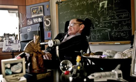 In the black (hole): Stephen Hawking wins £1.8m physics prize