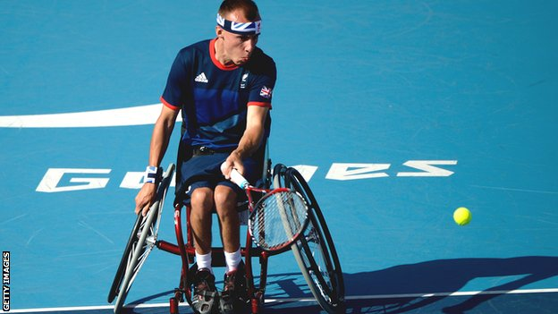 GB's Andy Lapthorne ready for Quad tennis expansion