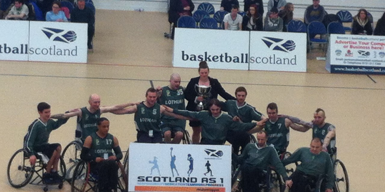 Lothian Phoenix Win Wheelchair Basketball Scottish Cup Final