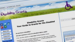 Gloucestershire disability grants website 'used across UK'