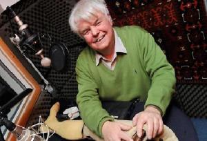 The presenter Peter White. Photograph: BBC