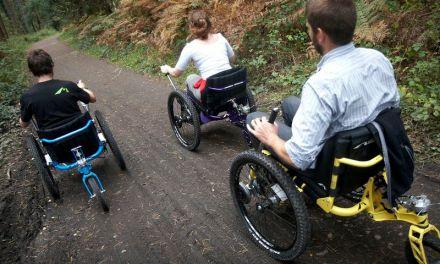Mountain Trike Lands In Scotland