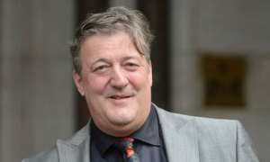 Stephen Fry told an audience on Monday night that he had never spoken about his latest attempt to commit suicide. Photograph: Rex Features/Gavin Rodgers