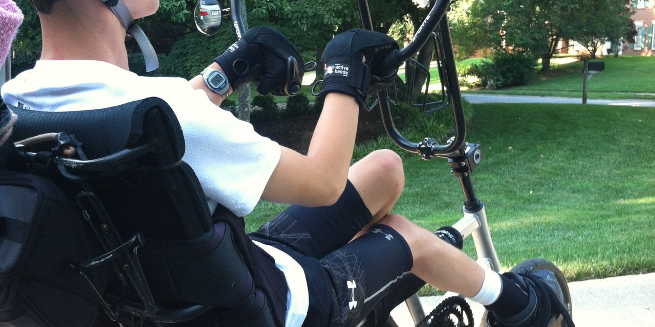 Disabled Teenager Trains For Marine Corp Marathon With Help From Active Hands