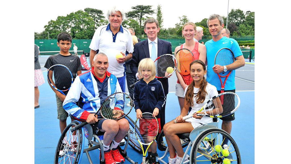 Disability tennis seeks stars of the future