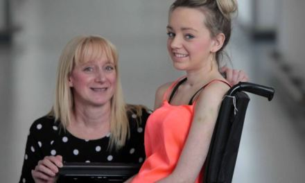 Student, 20, makes amazing recovery after her whole body – including her EYELIDS – became paralysed
