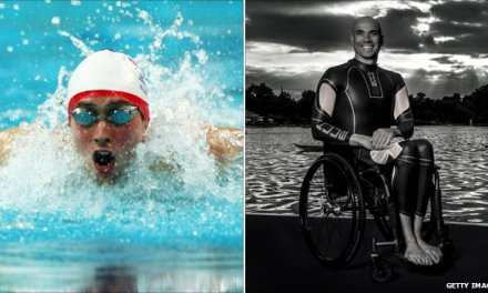 Paratriathletes Phil Hogg and Dave Ellis honoured by council