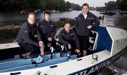 Servicemen set sail for 50-day rowing challenge