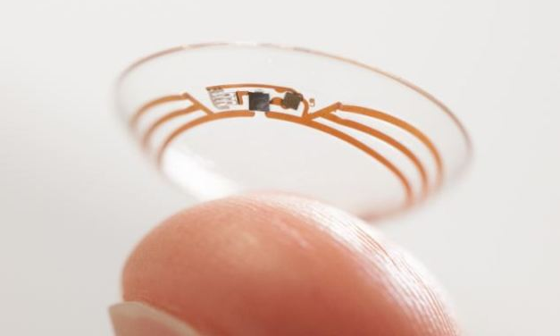 Forget Glass, Google reveals the smart contact lens that can constantly monitor the tears of diabetes sufferers to check their glucose levels