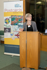 Shadow disability spokesperson Kate Green MP speaks about the postcards project and its importance.