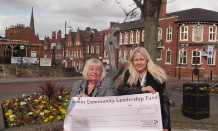 Hellaby: Councillor's generous donation will buy disability group 'teas for a year'