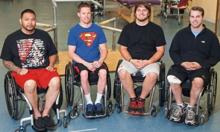 Paralysed men move again with spinal stimulation