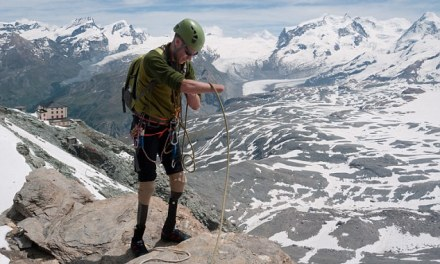 'People can do great things if they get the mindset right': Inspiring story of man who overcame the odds to climb the Matterhorn despite having no FEET
