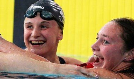 England's Stephanie Slater wins silver