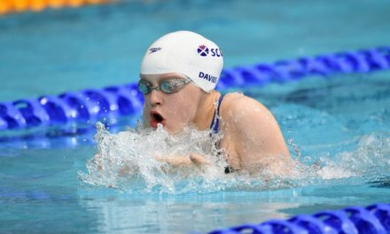 Erraid Davies, 13, earns bronze medal in pool