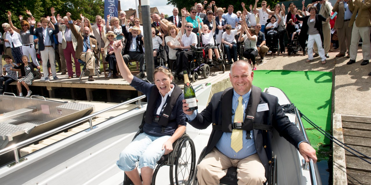 Wheelyboat Trust launches disabled access boats on River Thames