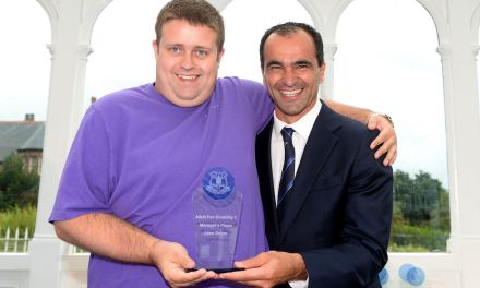 Blues honour disability heroes