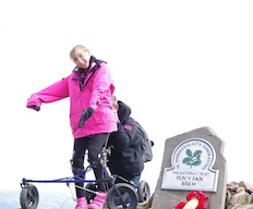 Tash Scales New Heights As Sea And Summit Conquered
