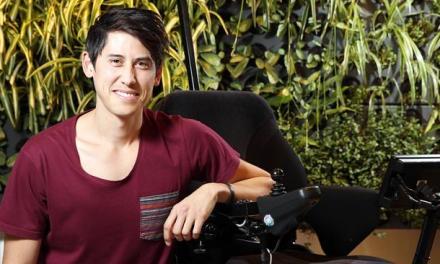 Inventor creates mind-controlled wheelchair