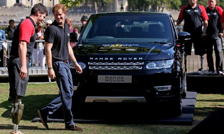 First Medals of the Invictus Games to be Awarded at the Jaguar Land Rover Driving Challenge