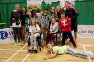 Junior Games team