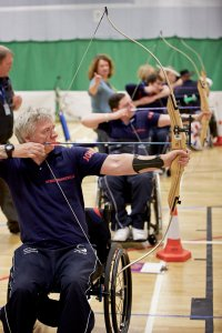 Wheelpower Inter Spinal Unit Games. 9th April 2014. Stoke Mandeville Stadium.
