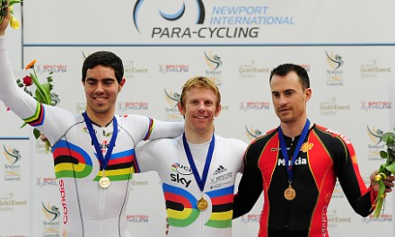 Double gold for Cundy caps great weekend for GB at Newport Para-cycling International