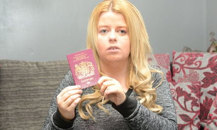 Blind woman 'refused passport because her eyes were not in focus'