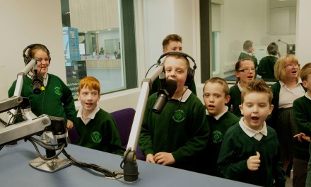 Children with autism take to the airwaves