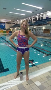 Stephanie Millward wears her #purplepants