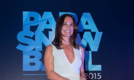 Pippa Middleton hosts Para Snow Ball