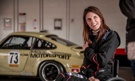 UK's first woman spinal cord injured racer on track