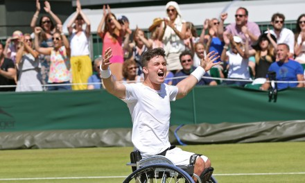 Tennis Foundation delighted with wheelchair tennis singles announcement at Wimbledon