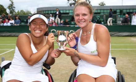 Whiley fights back to clinch second Wimbledon title
