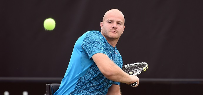 McCarroll wins battle of the Brits on day one of the British Open Wheelchair Tennis Championships