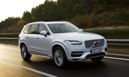 All-new Volvo XC90 T8 Twin Engine SUV means business