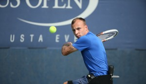 Andy Lapthorne at US Open 2014 (Copyright Tennis Foundation)