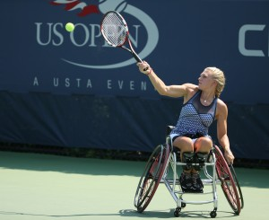 Jordanne Whiley at the 2014 US Open