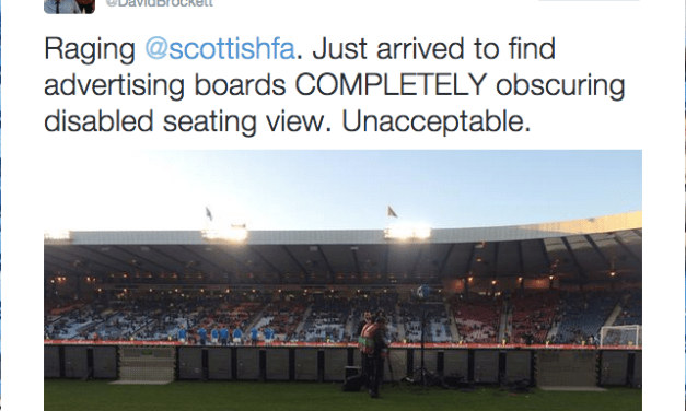 Scottish FA offers refund to wheelchair users with restricted view at Hampden